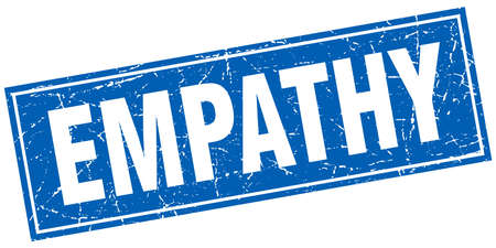 empathy: empathy square stamp Illustration