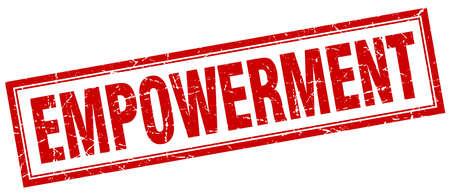 empowerment: empowerment square stamp