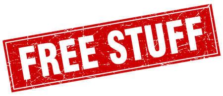 stuff: free stuff square stamp