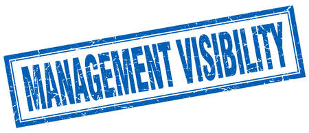 visibility: management visibility square stamp