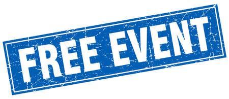 event: free event square stamp