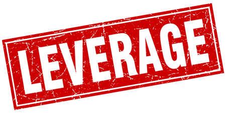 leverage: leverage square stamp