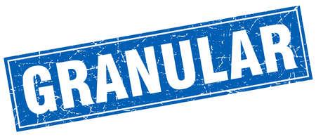 granular square stamp Çizim