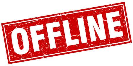 offline: offline square stamp