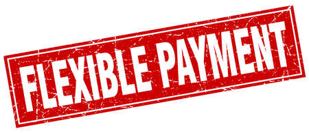 flexible: flexible payment square stamp