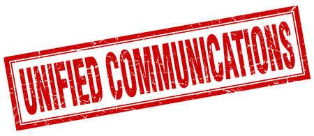 通信: ユニファイド コミュニケーション広場スタンプ