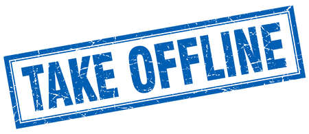 offline: take offline square stamp