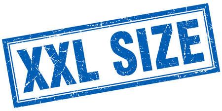 xxl: xxl size square stamp Illustration