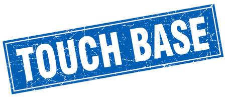 touch: touch base square stamp