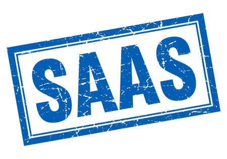 saas: saas square stamp