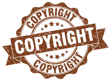 copyright: copyright stamp. sign. seal