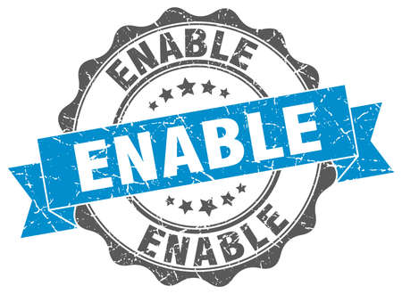 enable: enable stamp. sign. seal