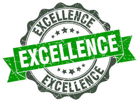 excellence: excellence stamp. sign. seal Illustration