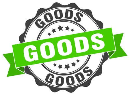 goods stamp. sign. seal Illustration