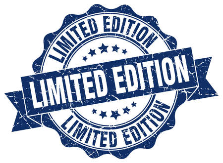 limited edition: limited edition stamp. sign. seal