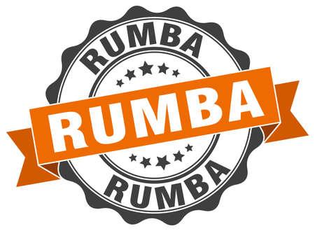 rumba stamp. sign. seal