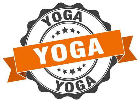 yoga stamp. sign. seal