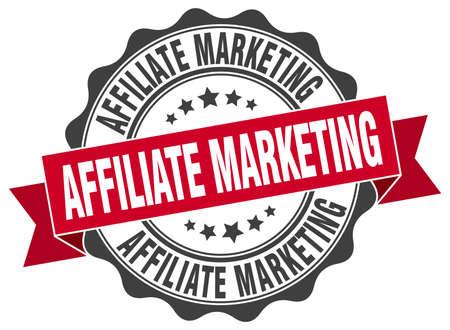 affiliate marketing: affiliate marketing stamp. sign. seal