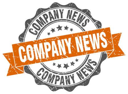 company news stamp. sign. seal