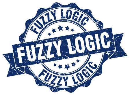 logic: fuzzy logic stamp. sign. seal