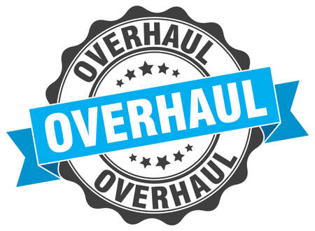 overhaul: overhaul stamp. sign. seal