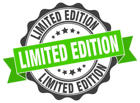 edition: limited edition stamp. sign. seal
