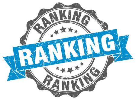ranking: ranking stamp. sign. seal