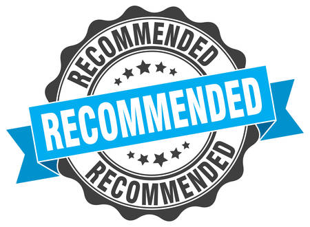 recommended: recommended stamp. sign. seal