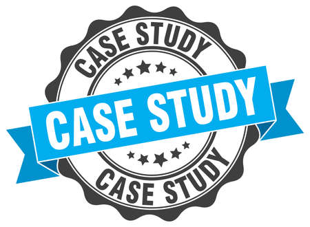case study stamp. sign. seal