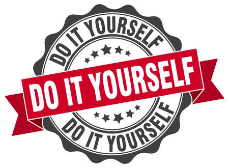 do it yourself stamp. sign. seal