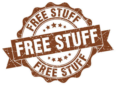 stuff: free stuff stamp. sign. seal