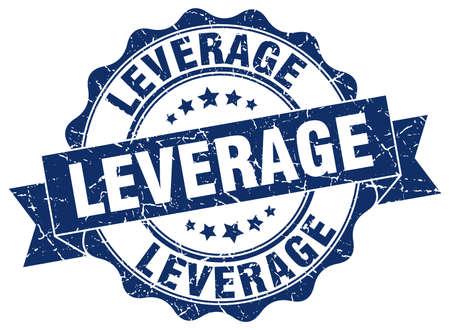 leverage: leverage stamp. sign. seal
