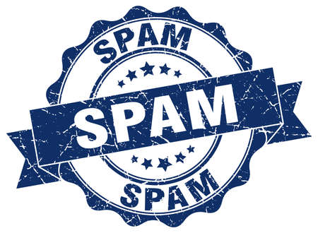 spam: spam stamp. sign. seal