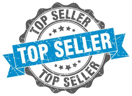 seller: top seller stamp. sign. seal