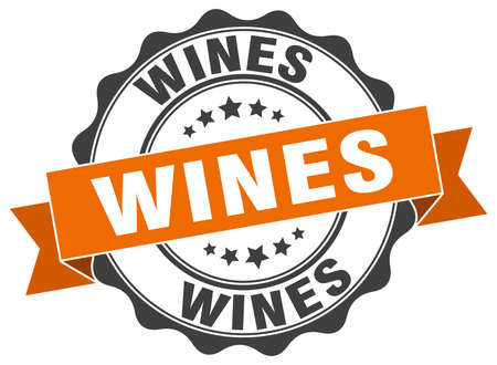 wines stamp. sign. seal