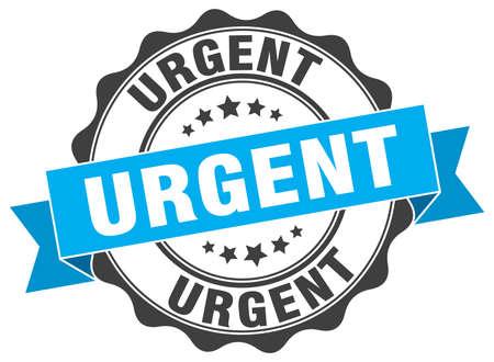 urgent: urgent stamp. sign. seal Illustration