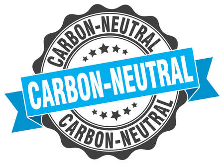 co: carbon-neutral stamp. sign. seal