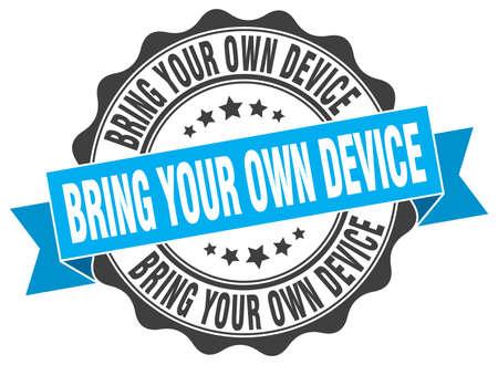 あなた自身のデバイスのスタンプをもたらします。署名します。シール