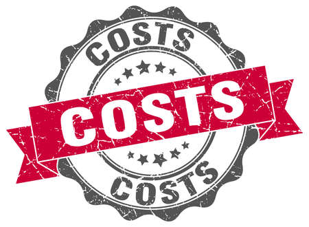 costs: costs stamp. sign. seal