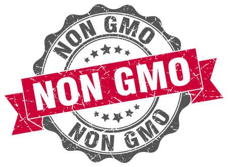 non: non gmo stamp. sign. seal