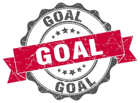 aim: goal stamp. sign. seal