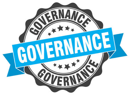 timbre de gouvernance. signe. joint