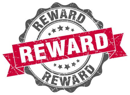 beloning stamp. teken. zeehond Vector Illustratie