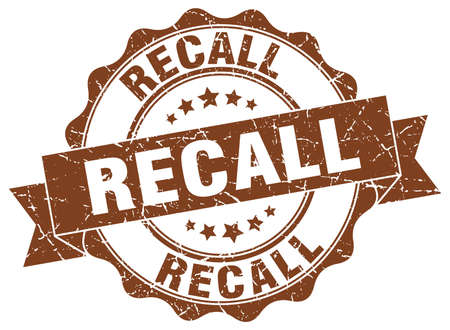 recall stamp. sign. seal