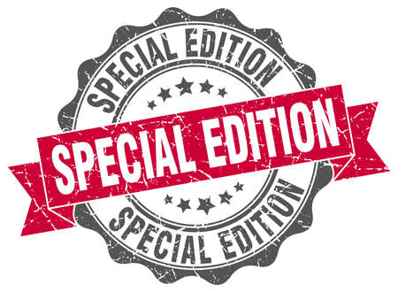 edition: special edition stamp. sign. seal