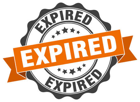expired: expired stamp. sign. seal