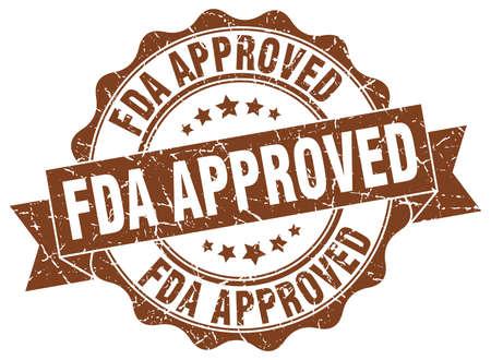 fda approved stamp. sign. seal