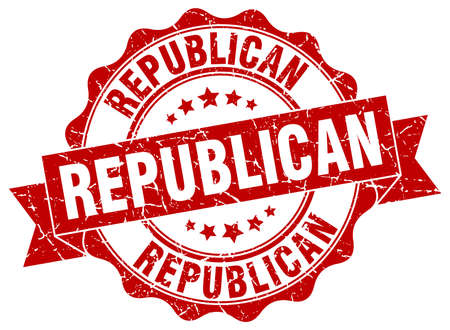 republican: republican stamp. sign. seal