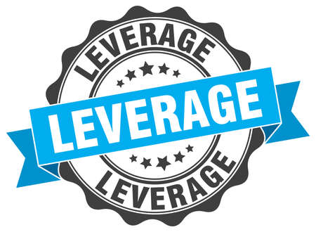 leverage: leverage stamp. sign. seal