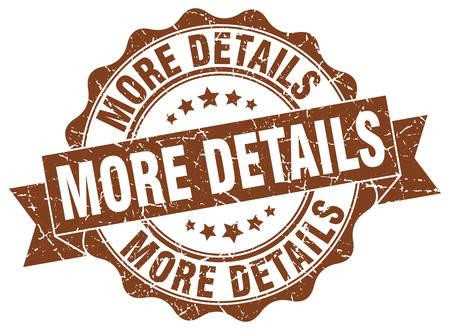 details: more details stamp. sign. seal